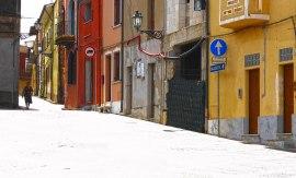Sunlit-street