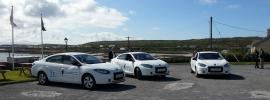 Renault EVs on Aran