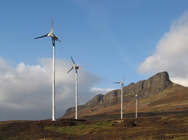 6 kW wind turbines