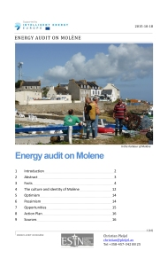 Energy Planning on Molène