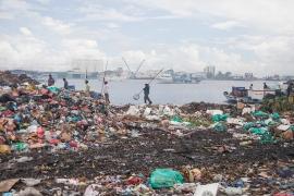 """Thilafushi island, """"rubbish island"""" © Giulio Paletta"""