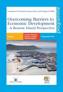 Poster Agenda - Shetland - COTER Seminar