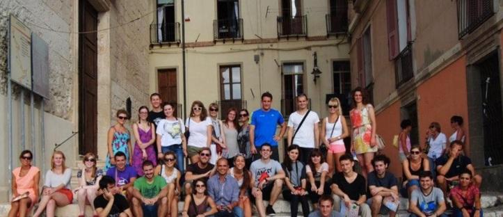 Cagliari University students