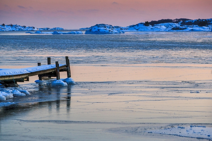 Vinter i skärgården / Winter in Stockholm archipelago