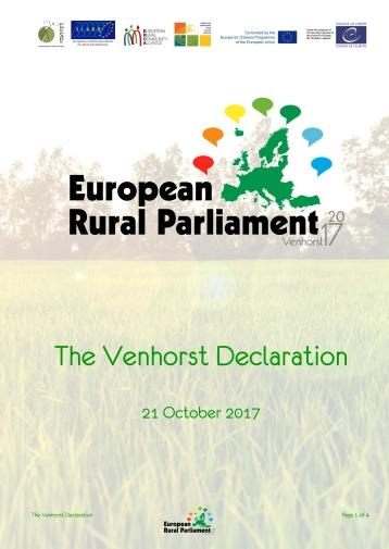 The Venhorst Declaration-1