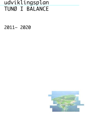 Udviklingsplan Tunø i balance