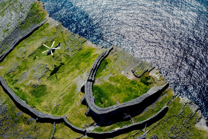 Aran...2nd NATURE AND THE ENVIRONMENT Dun Aengus the prehistoric